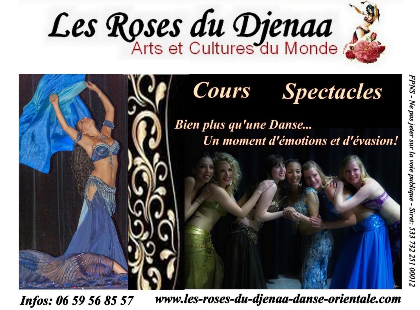 Cours Danses Orientales Egyptiennes - Les Roses du Djenaa