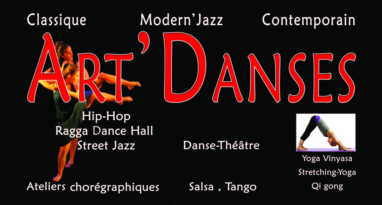 DANSE - STRETCHING - YOGA - CENTRE ART'DANSES