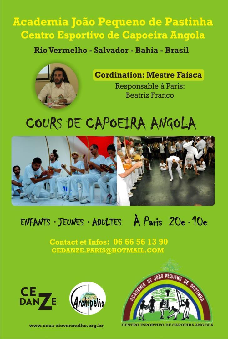 Cours de Capoeira Angola - CEDANZE