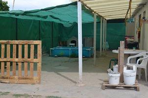 petit refuge du sud de l' Espagne démuni de tout
