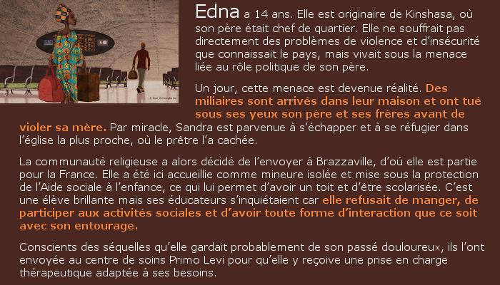 Itinéraire d'Edna