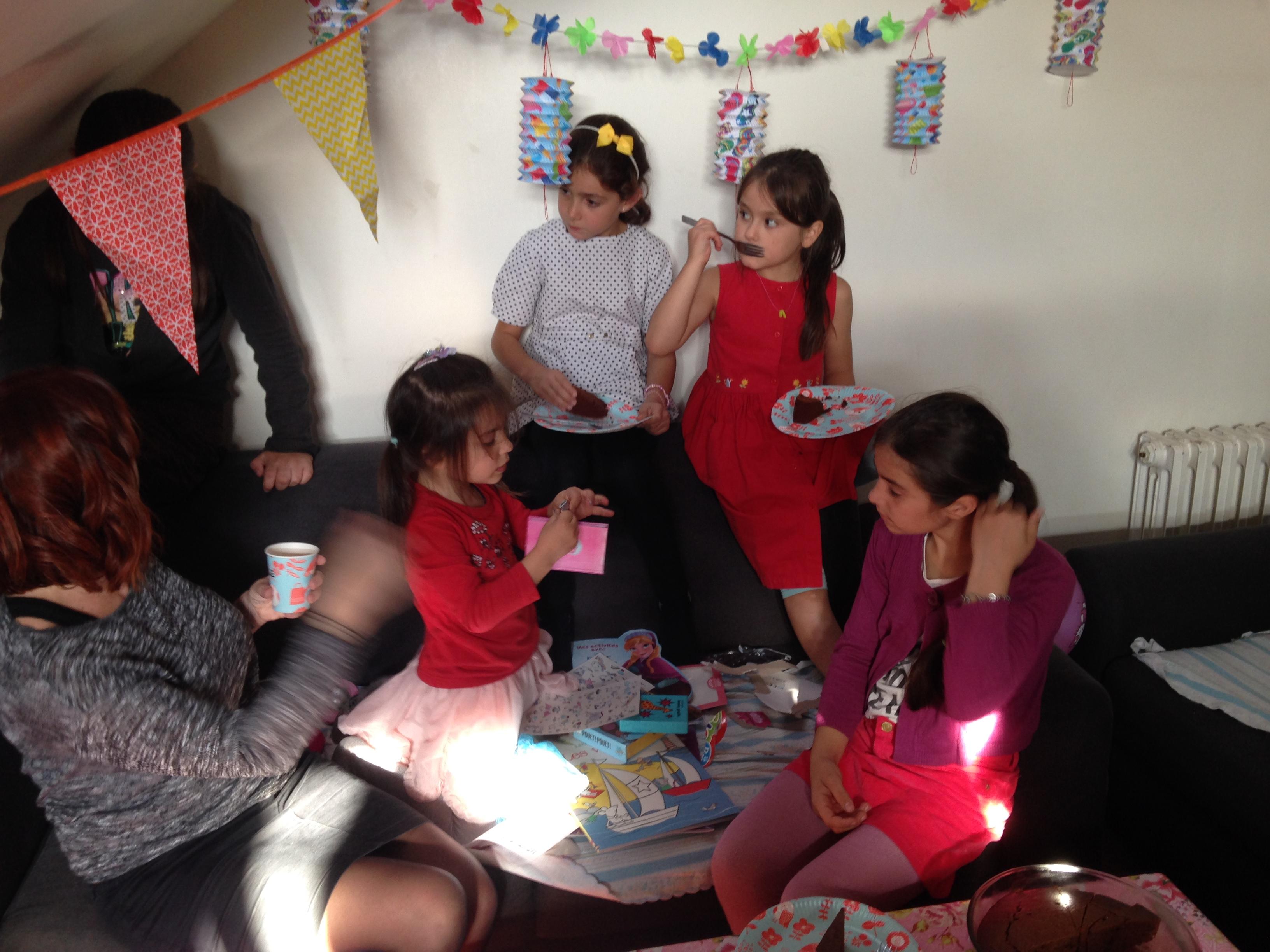 Eliana fête ses 5 ans avec ses copines