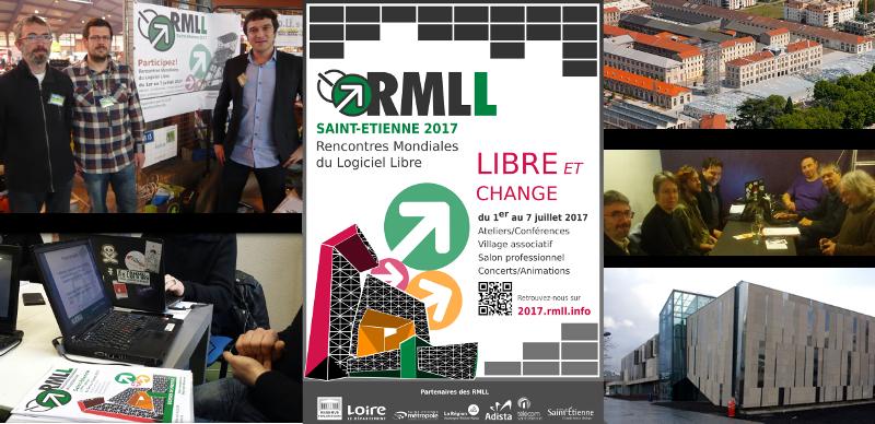 L'équipe de ALOLISE – Cette édition des RMLL 2017 a été organisée par l'association ALOLISE qui est l'association pour la promotion des logiciels libres de.