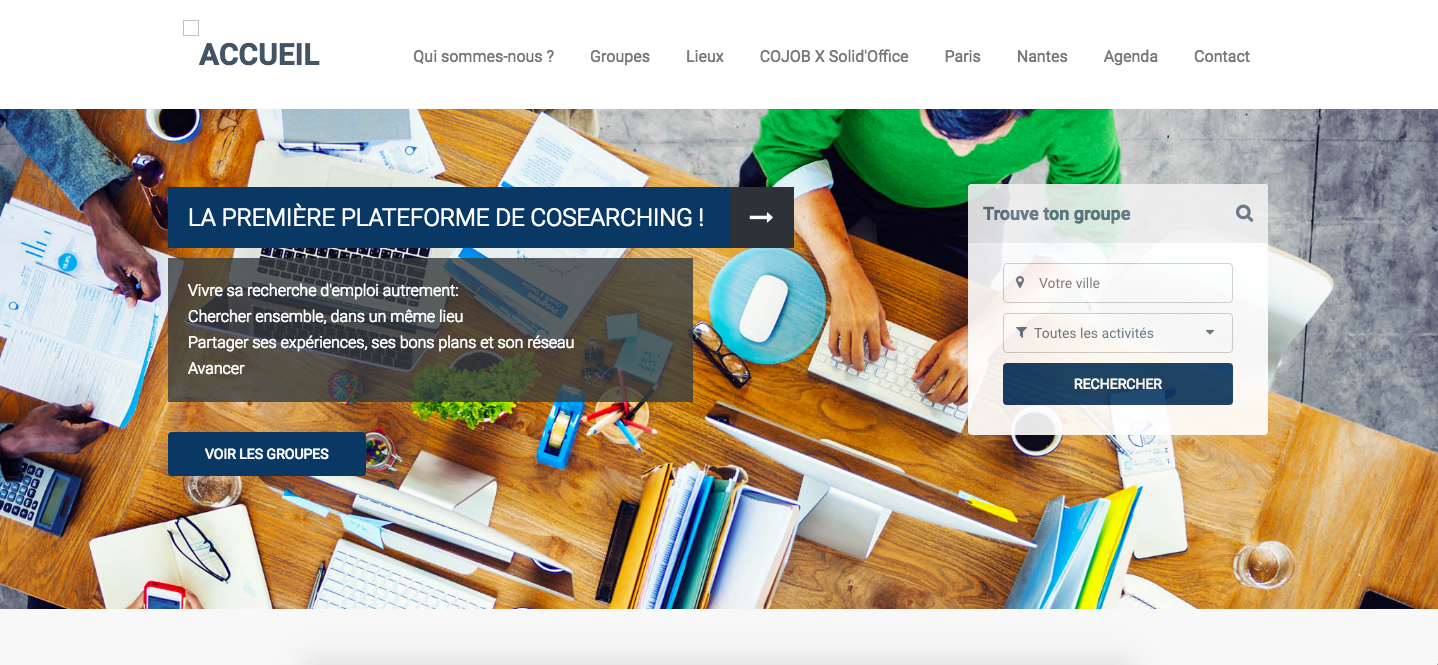 Le cosearching avec Cojob