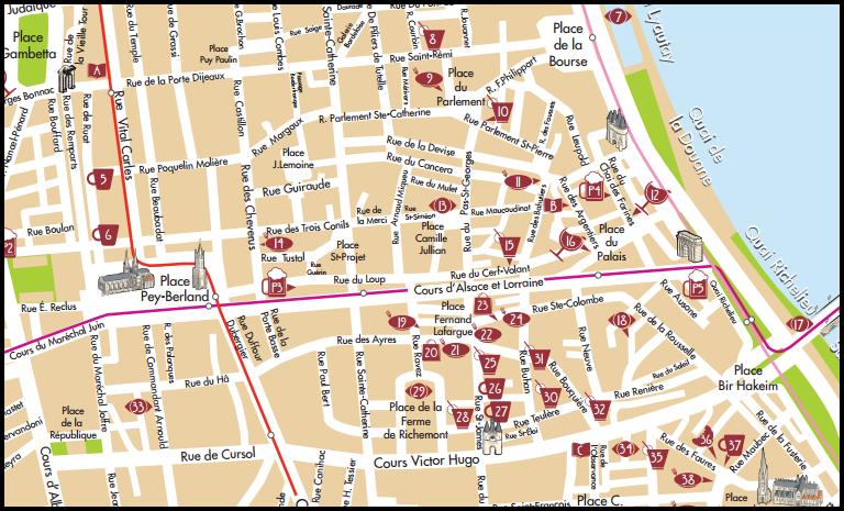 Carte Centre Ville Bordeaux.Aidez La Carte Participative De Bordeaux Use It