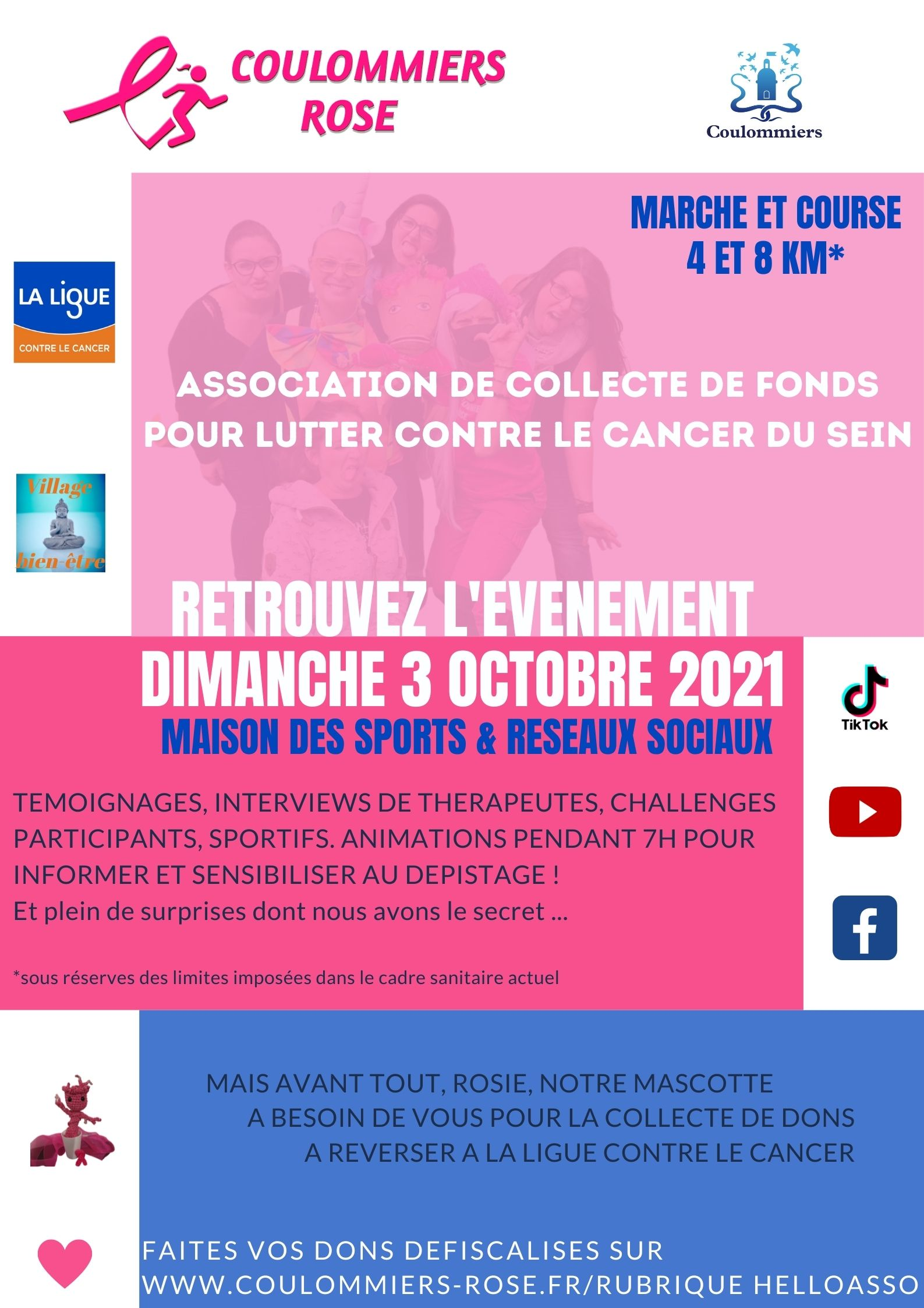 Flyer Coulommiers Rose 2021