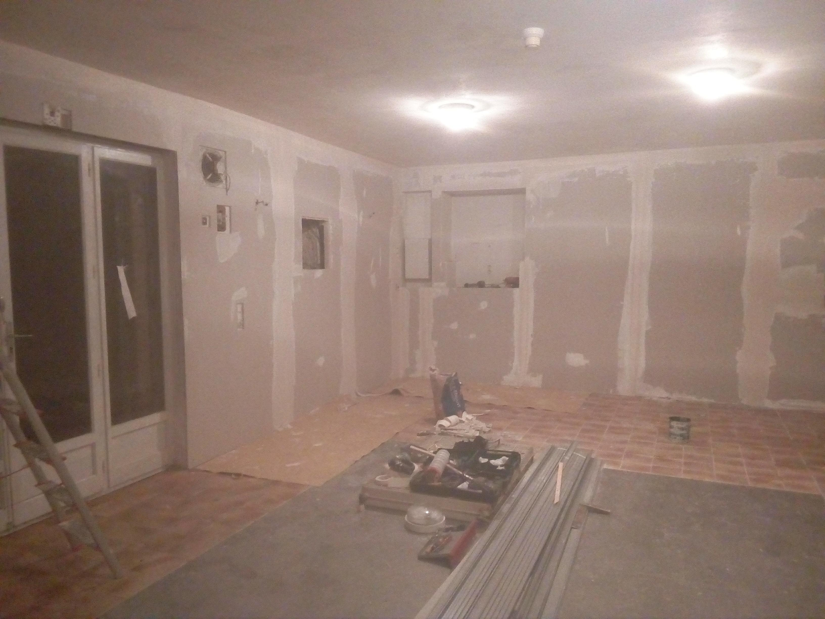 Rénovation de la salle de l'aile Est du château (2019)