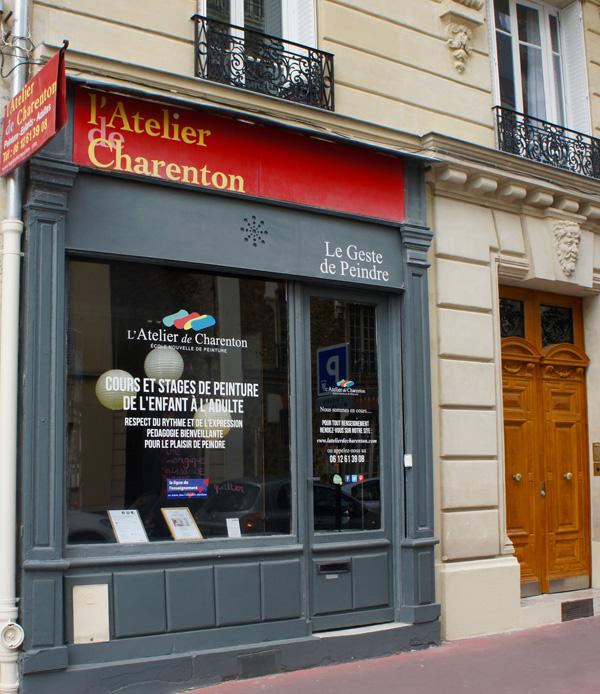 L'Atelier de Charenton est à 5 minutes du métro (ligne 8)