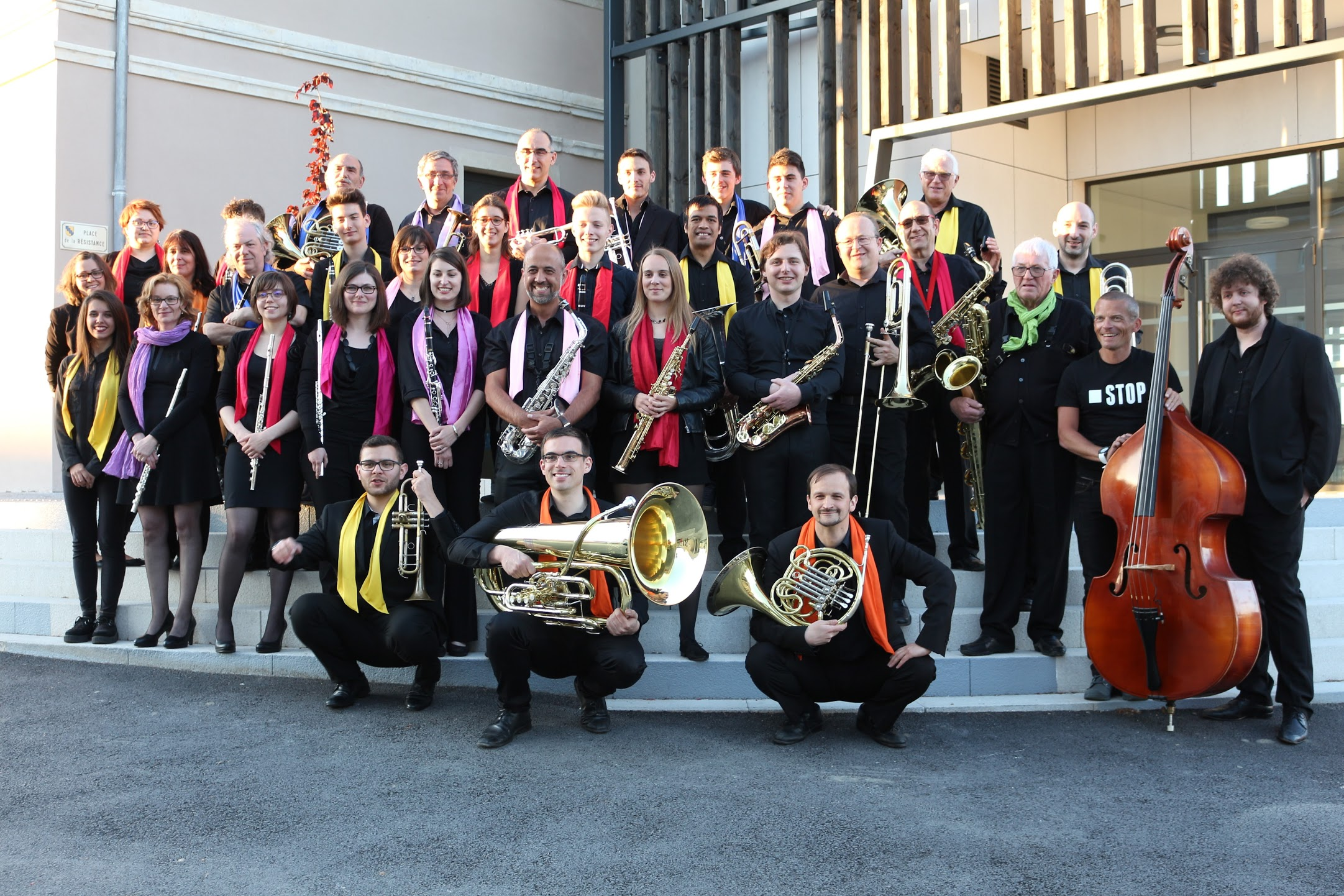 Photo de groupe concert de Montrevel