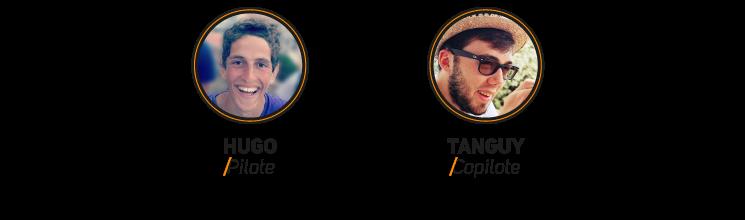 Hugo / Pilote & Tanguy / Copilote