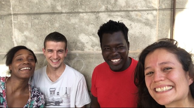 Vanessa - Léo - Mbaye - Gabriela pour Holarè