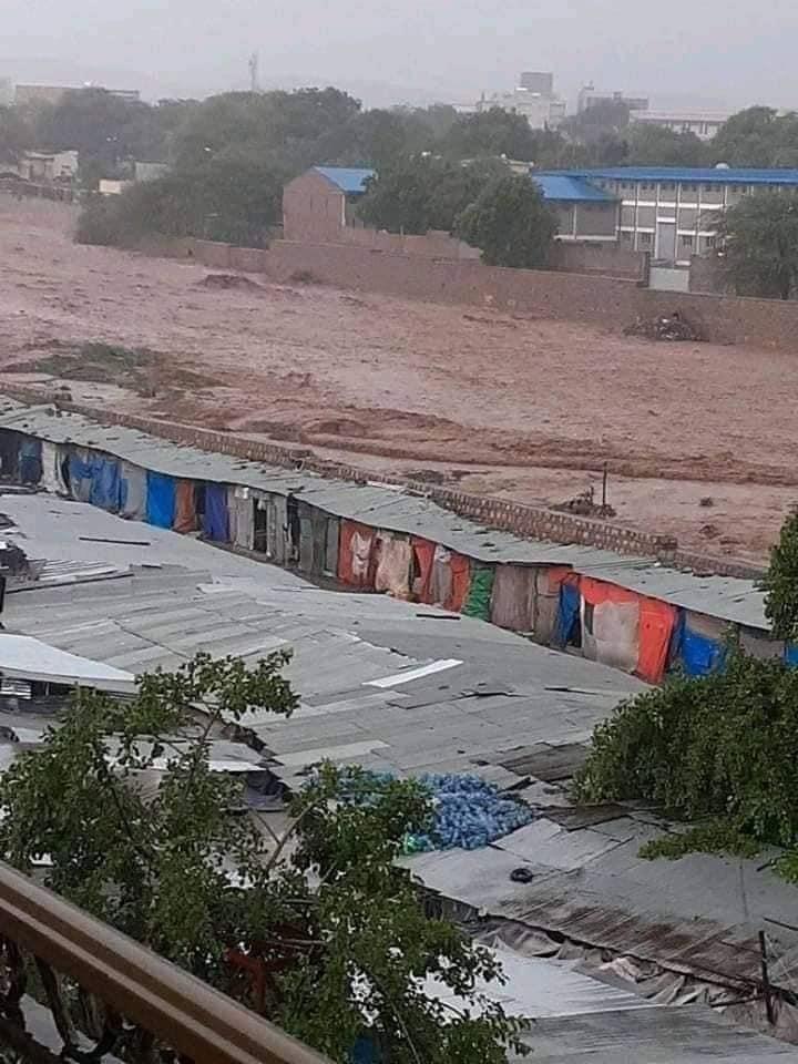 inondation de boue