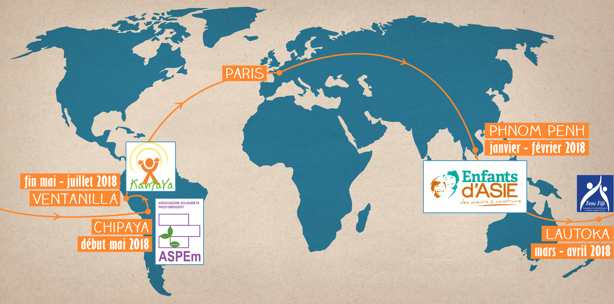 Carte Globeshakers Project