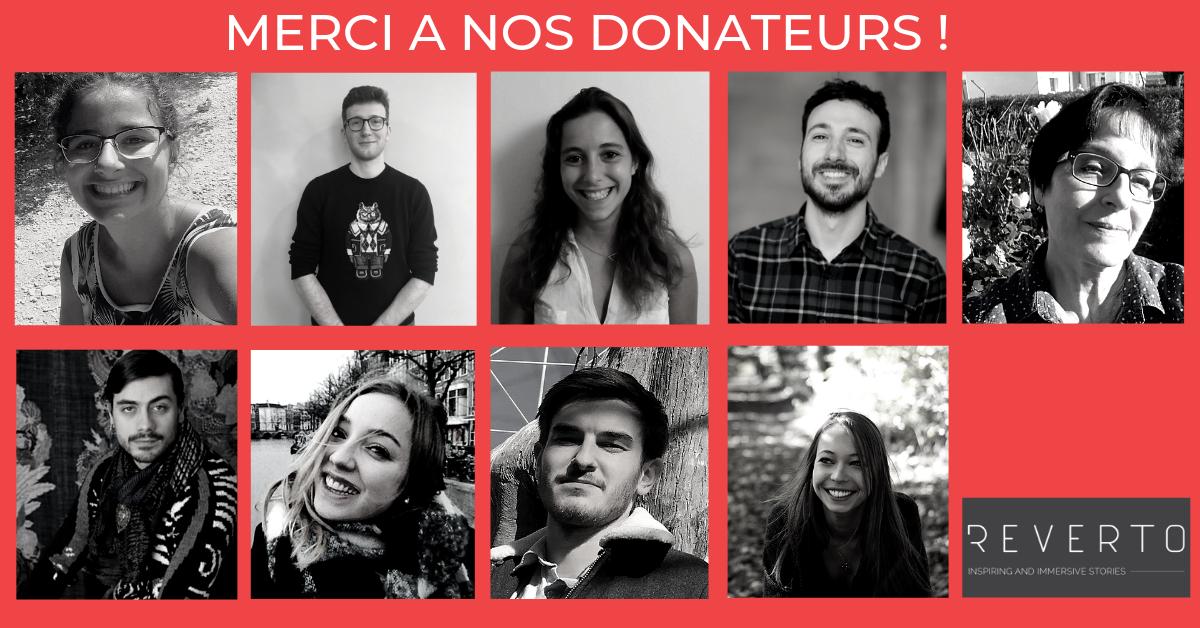 1ers donateurs